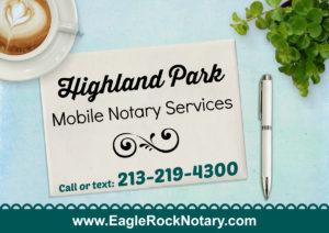 Highland Park Notary