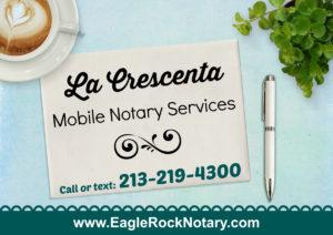 La Crescenta Notary
