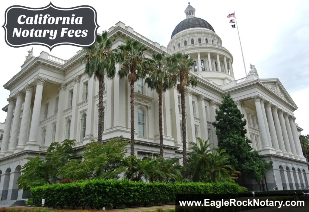 California Notary Fees