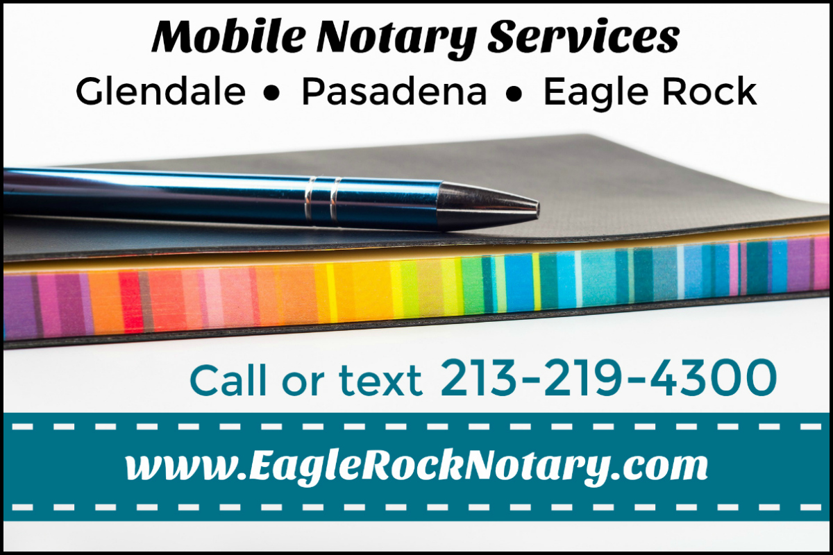 Glendale Mobile Notary Public