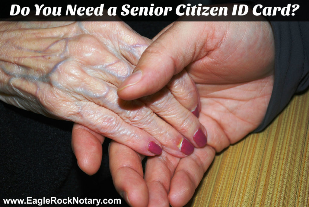 Senior Citizen Identification