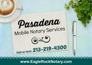 Pasadena Notary