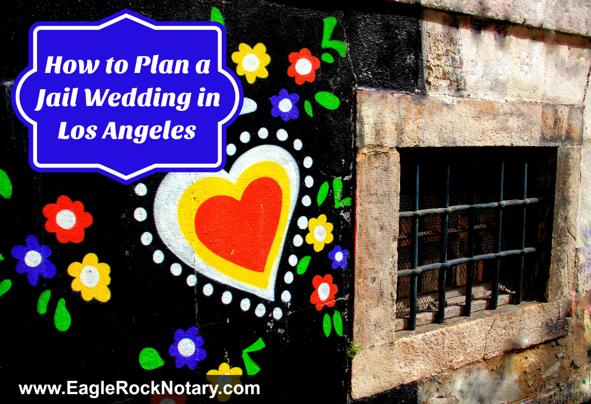 Los Angeles Jail Wedding