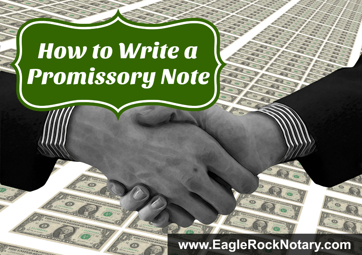 Promissory Note Tips